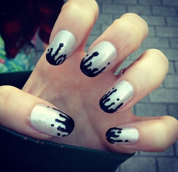 Black And White Nail Art Design You Should Try