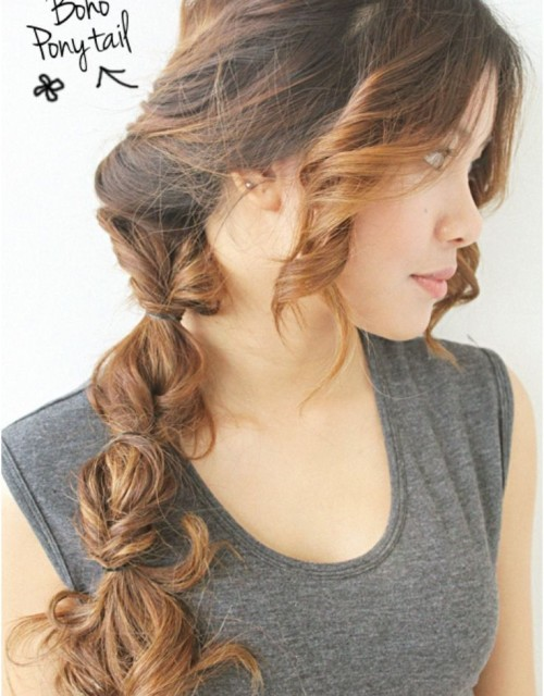 2014 Trend Boho Hairstyle inspirations