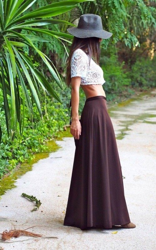 Crop Top Outfit Ideas For Summer Fashion