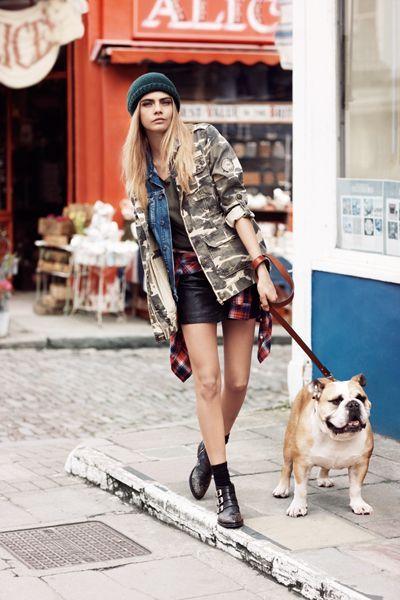 Models Off Duty: Cara Delevingne Street Style