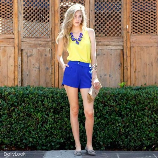 Trend Fashion: Color Blocking Outfit