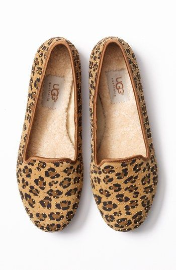 printed flat shoes