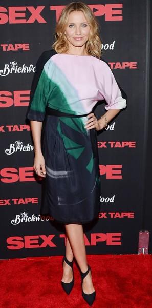 Cameron Diaz in Vionnet Dress