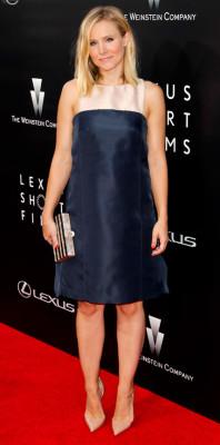 Kristen Bell in Monique Lhuilier Dress