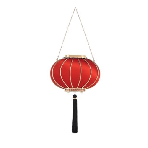 Lantern mini clutch