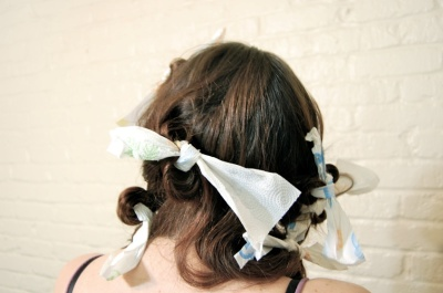 Paper Curl Hair