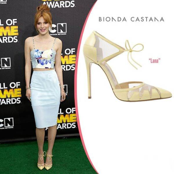New Celebrity Favorite Shoes, Lana Heels - Bella Thorne