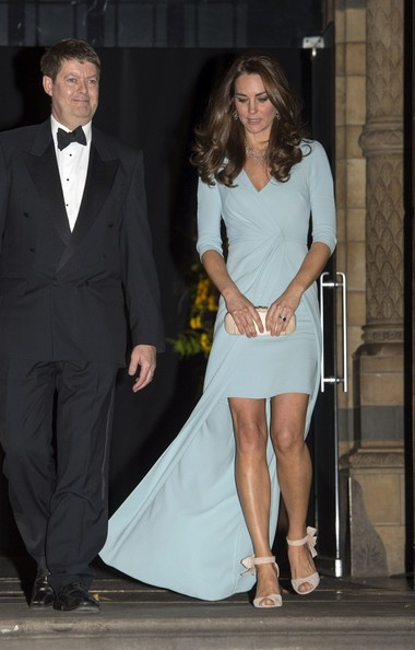 Kate Middleton Gown Show Her Second Pregnancy