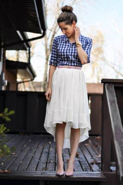 How To Style With Checkered Shirt