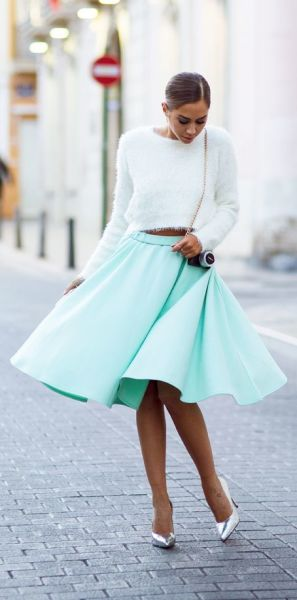 Picked Color: Mint Green Outfit Ideas