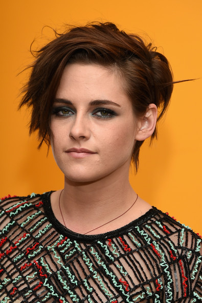 Kristen Stewart New Haircut Mocha Colored