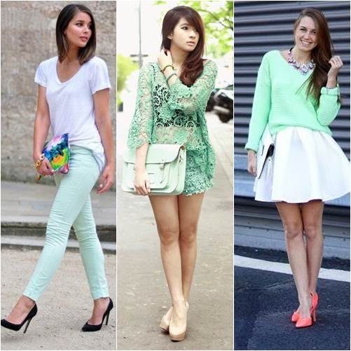Picked Color: Mint Green Outfit Ideas |