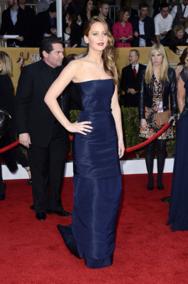Jennifer Lawrence Evening Dress