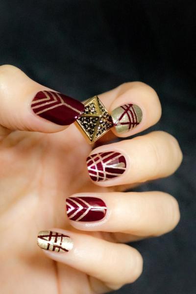 Elegant Nail Art Design Ideas