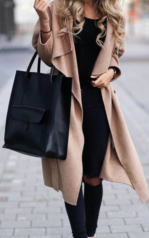 How to Style With Winter Coat Outfit