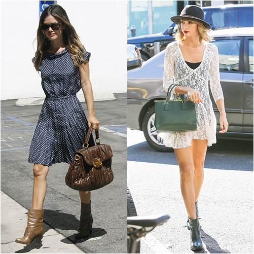 best boots for dresses