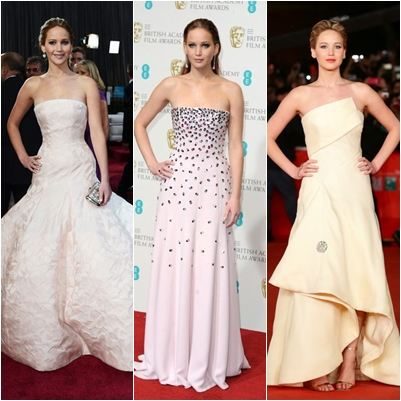 Best Jennifer Lawrence Dresses On Red Carpet Moment