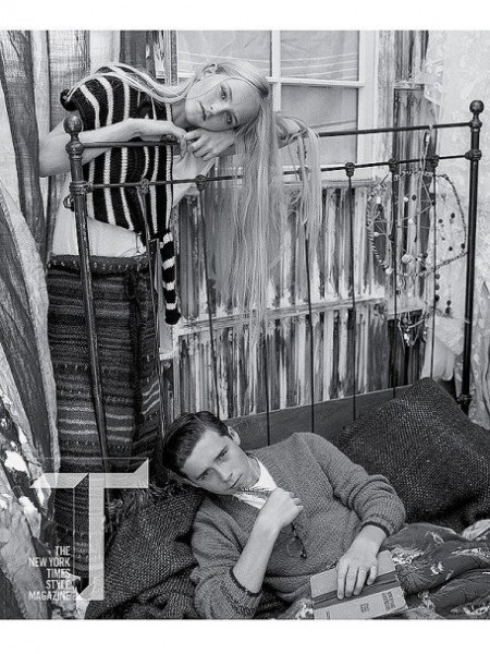 Brooklyn Beckham in T Magazine Photoshoot