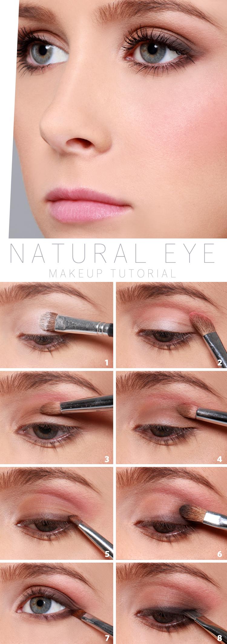 Beauty Tips: Natural Eyeshadow Tutorial