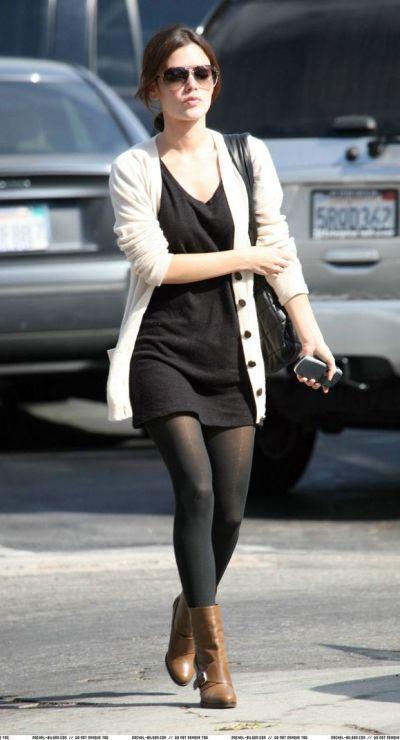 Rachel Bilson – cute fall outfit