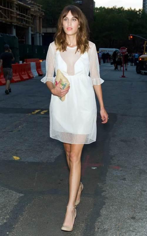 Celebrity Sightings – Spring 2013 Mercedes-Benz Fashion Week – September, 7 2012