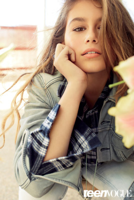 Kaia Gerber, New talented 13-Year-Old Model