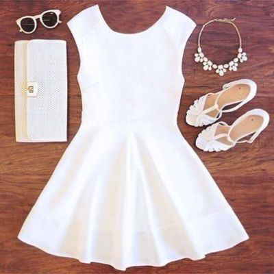 Little White Dress Makes You Prettier