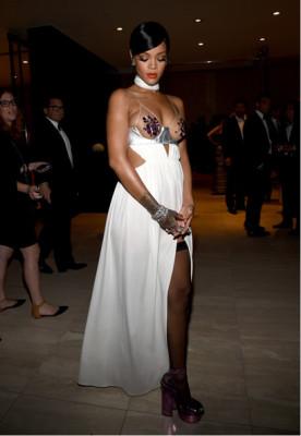 Rihanna Cutout Dress