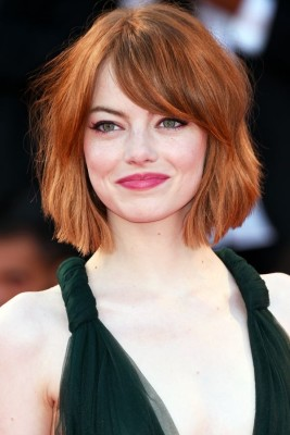 Emma Stone Short Bob Hairstyle
