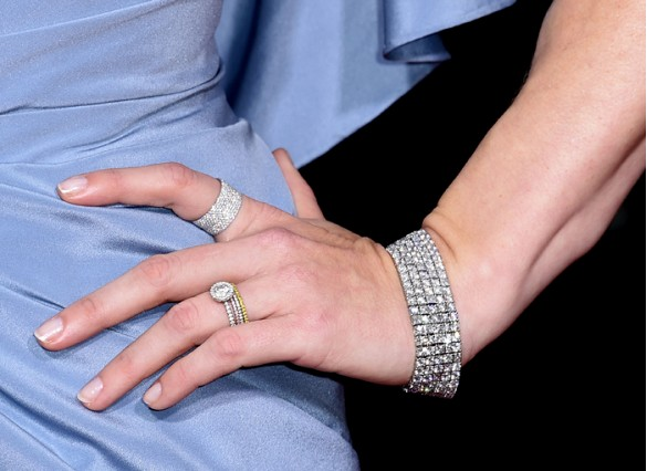 Amy Adams Bracelet and Rings