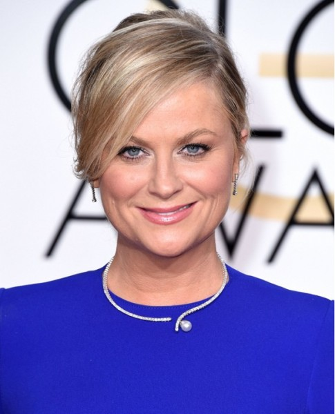 Amy Poehler  Jewelry At Golden Globes 2015