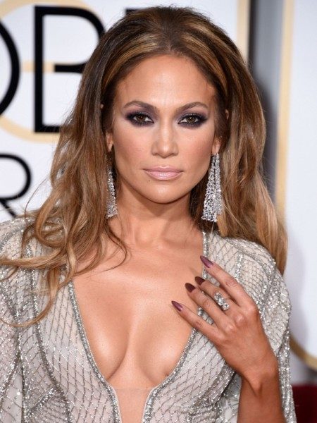 Jennifer Lopez Jewelry At Golden Globes 2015