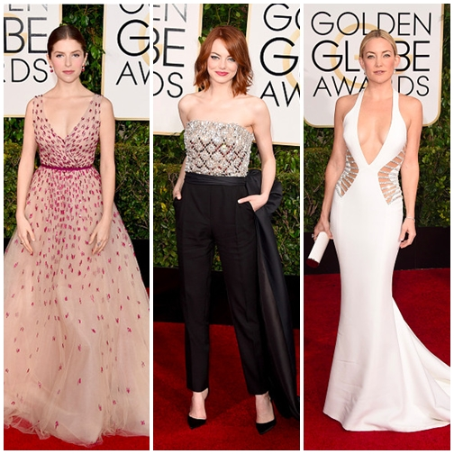 Wow! Best of Golden Globes 2015 Red Carpet Dresses!