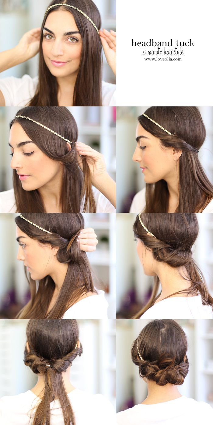 hair style for less hair easy hairstyle ideas for hair less then 10 minutes 6225
