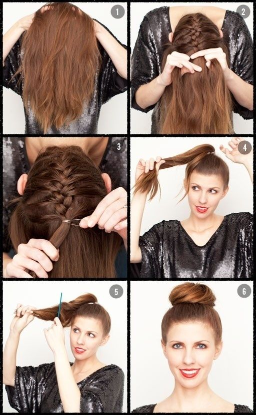 Easy Hairstyle Ideas For Long Hair Less then 10 minutes