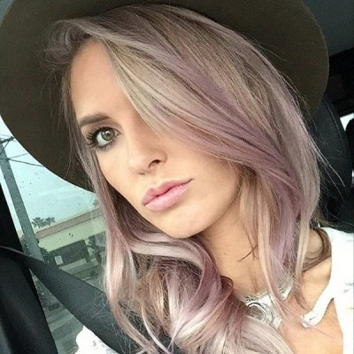 Audrina Patridge's Playful Pastel