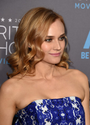 Diane Kruger's Strawberry Strands