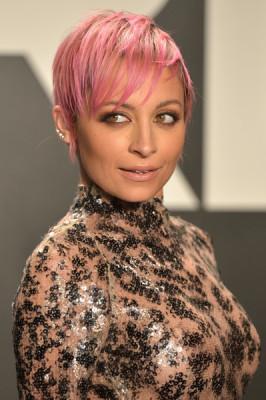 Nicole Richie's Bubblegum Pink Pixie