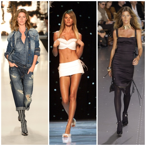 The Most Favorite Gisele Bundchen's Runway Moments
