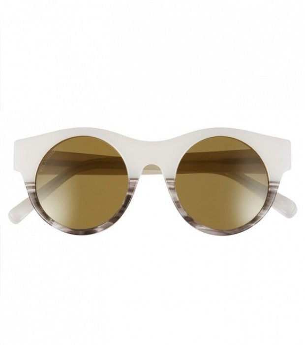 Elizabeth and James 'Olive' 47mm Polarized Round Sunglasses