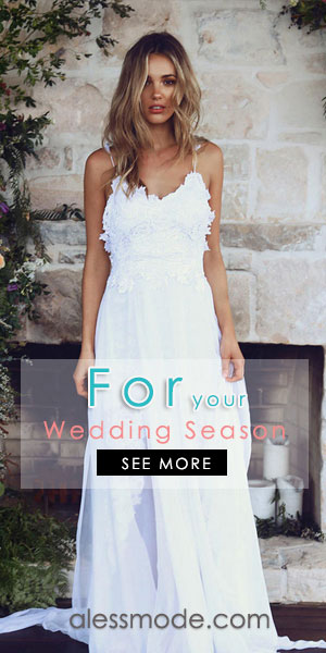 Compelling wedding dresses collection