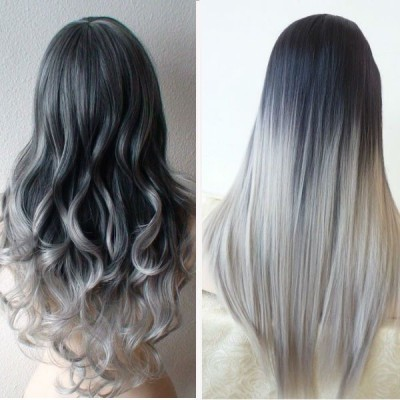 Gray hairstyle trend