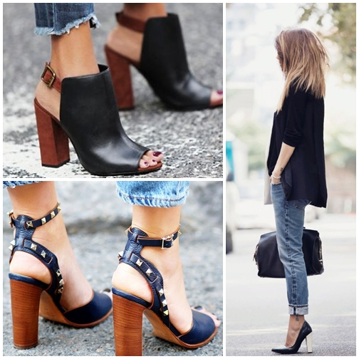 Block Heels For Summer 2015? Lets Have a Try!