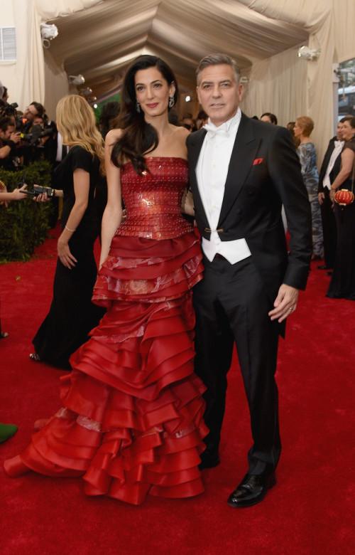 George-Amal-Clooney  Met Gala 2015