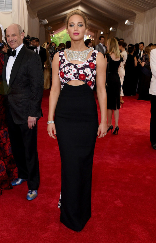 Jennifer Lawrence At Met Gala 2015