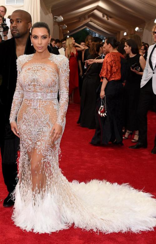 Kanye-West-Kim-Kardashian  Met Gala 2015