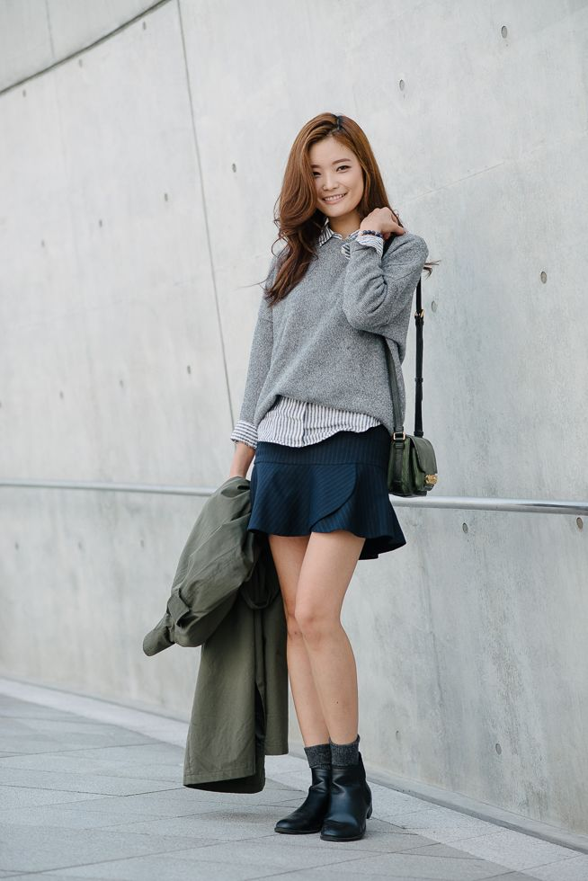 Street Style Park So Min At Seoul Fashion Week Spring 2015 Shot By Alex Finch Celebrity