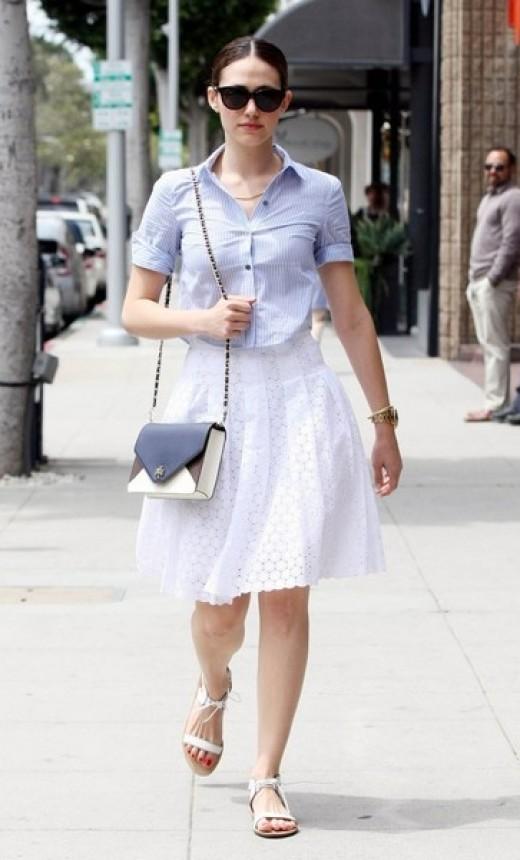 Emmy Rossum Street Style : Feeling Inspired!