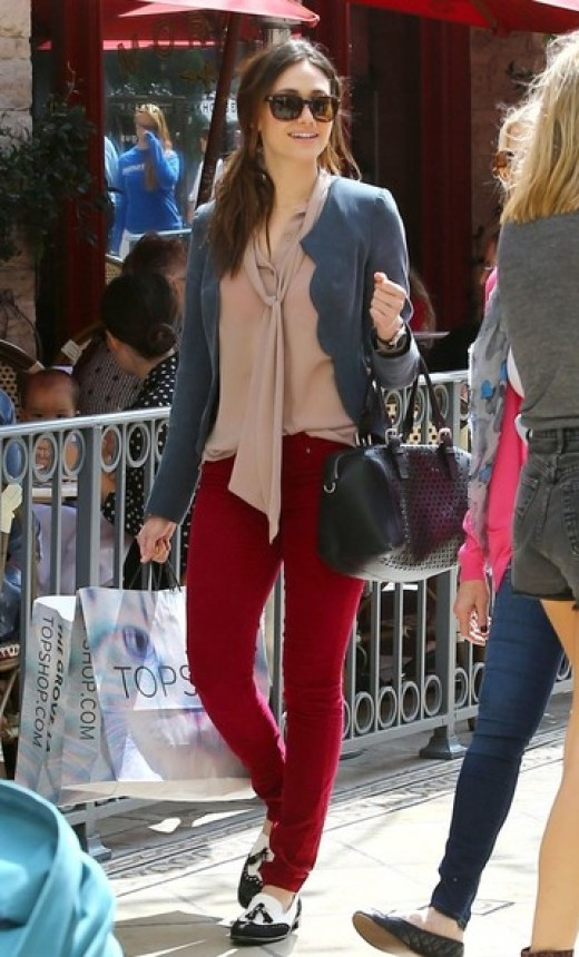 Crimson Skinnies
