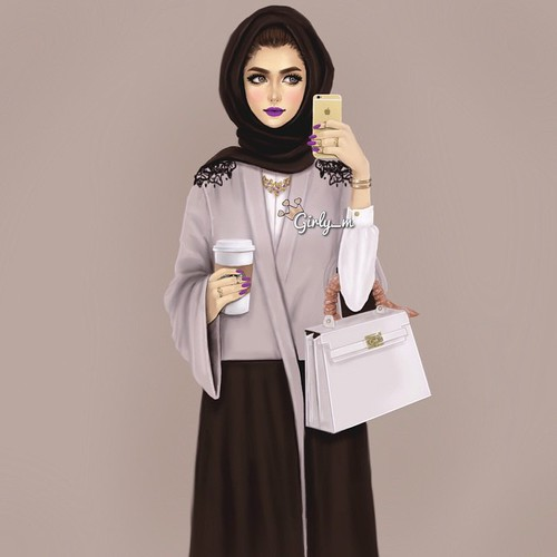How To Look Fashionable With Hijab Fashion Outfit